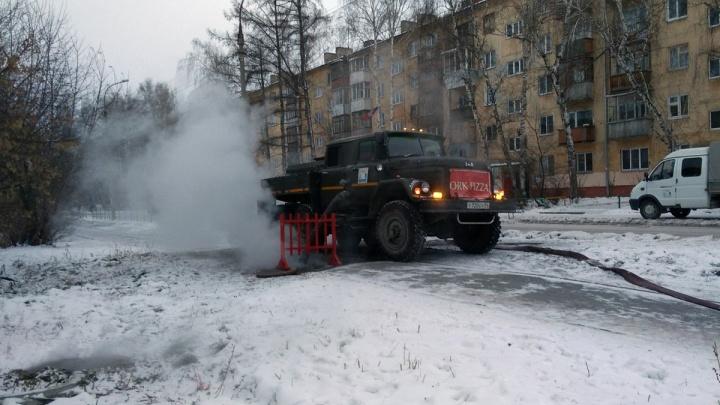 Батареи остывают: новосибирцы ощутили холод в квартирах после аварии в Ленинском районе