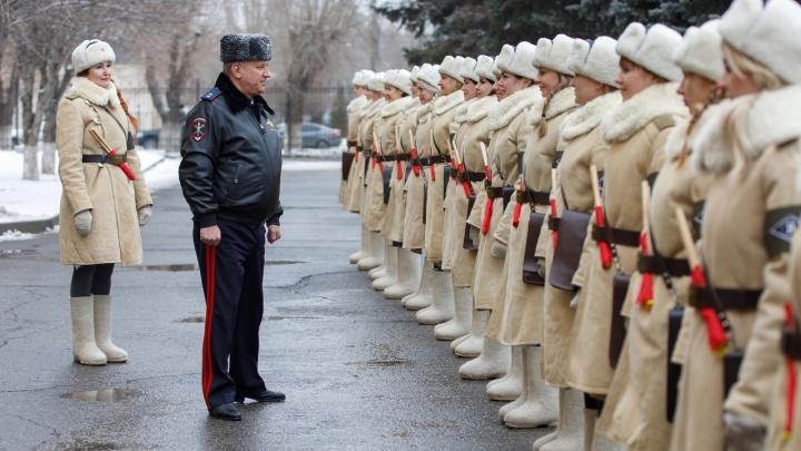 2 февраля на улицы Волгограда выйдет взвод девушек-регулировщиц