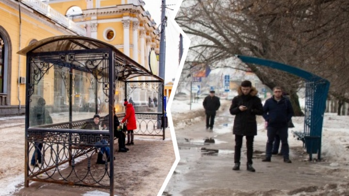 Остановки, которые мы заслужили: в каких разных условиях ярославцам приходится ждать транспорт