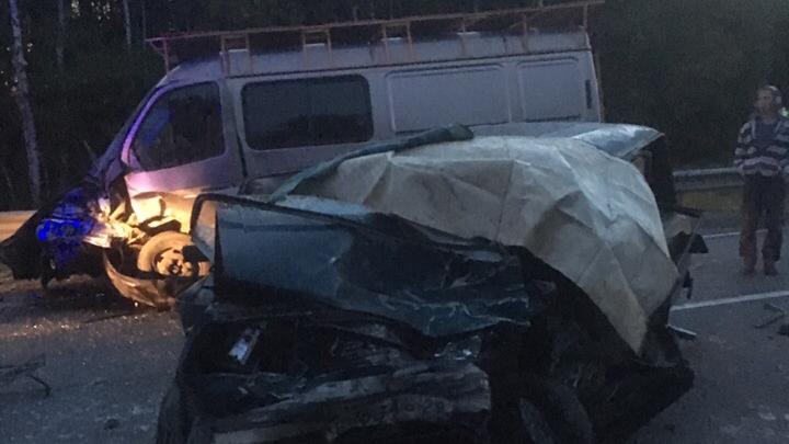 Один водитель погиб: ночью под Северодвинском столкнулись «Жигули» и «Газель»
