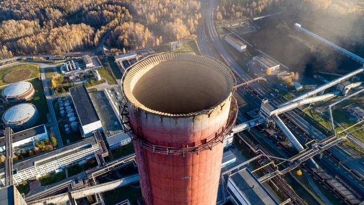 Выбросы новосибирских ТЭЦ сократились на 10 тысяч тонн