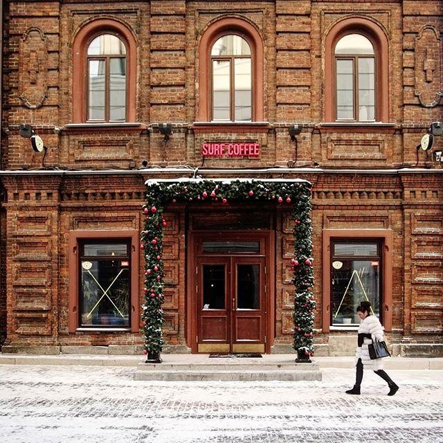 В переулке театральном двухэтажная кофейня открылась в январе этого года
