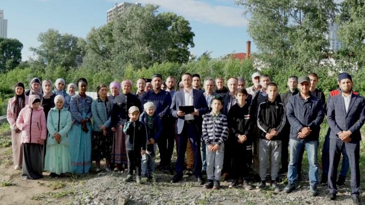 Уральские мусульмане попросят Путина построить соборную мечеть рядом с ледовым дворцом