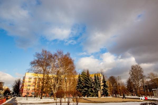 Выпавший накануне снег может растаять на следующей неделе