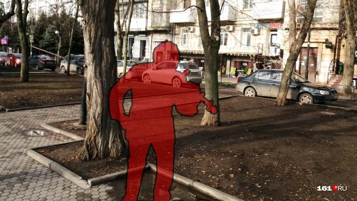 Из центра Ростова исчез памятник ростовскому скрипачу Моне. Рассказываем, что с ним случилось