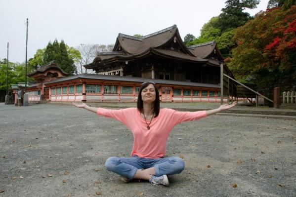 Анастасия переехала в Японию по работе