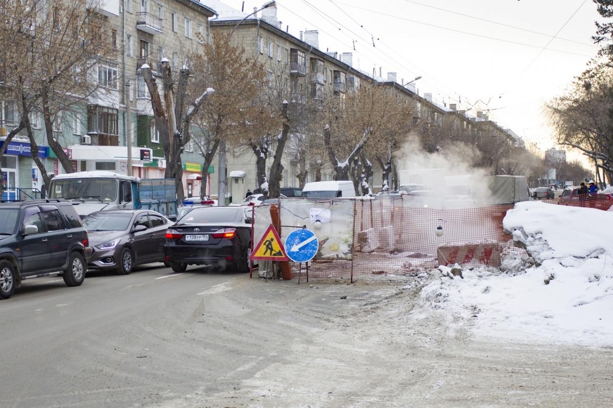 Вернуть горячую воду и отопление в дома новосибирцев обещают к 16:00