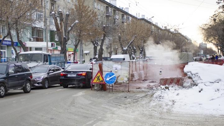 Шесть десятков домов в Новосибирске остались без отопления из-за ремонта теплотрасс