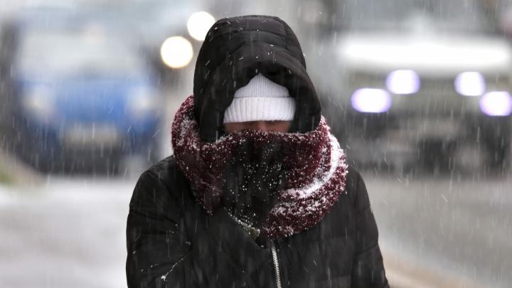 Усиление ветра, снегопад и гололёд: на Южном Урале объявили штормовое предупреждение