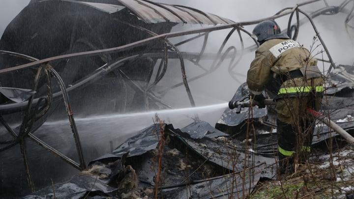 Пожар на заводе в Башкирии: обгорела сотрудница предприятия