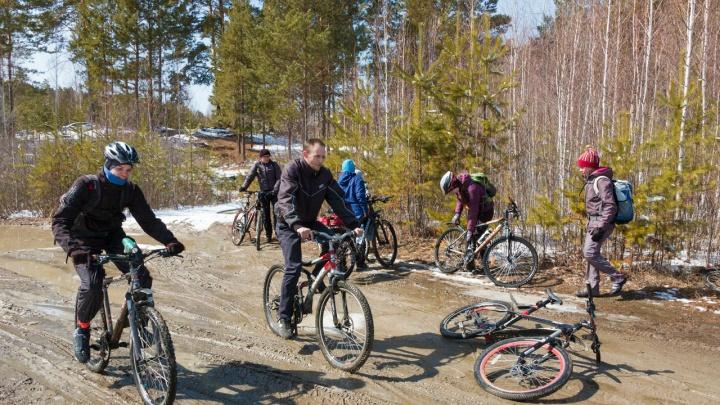 Курганские велосипедисты открывают летний сезон
