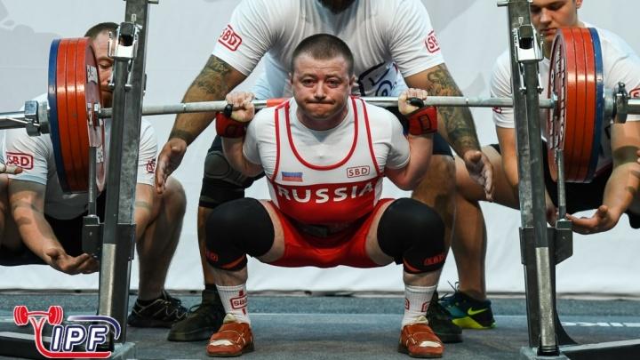 Новосибирский пауэрлифтер в седьмой раз выиграл золото чемпионата мира