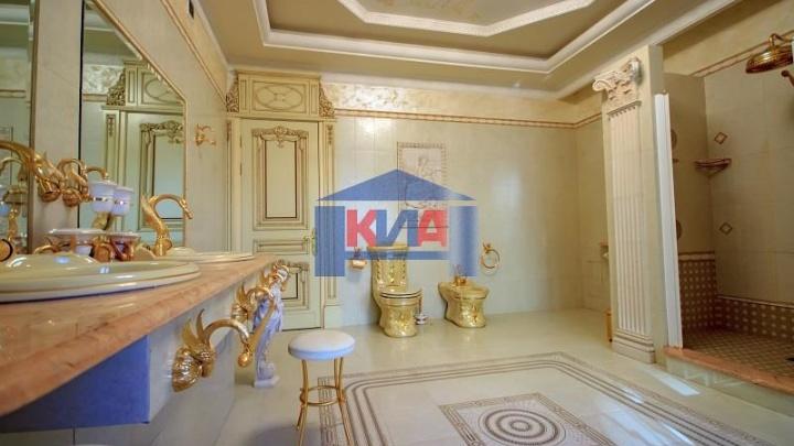В элитном доме на Ленина выставили на продажу квартиру с золотыми унитазами
