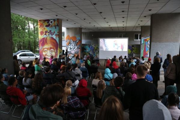 Фестиваль уличного кино пройдет в Архангельске в третий раз