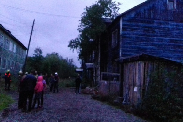 Вечером в деревянном доме № 95 на Заводской улице просела печь