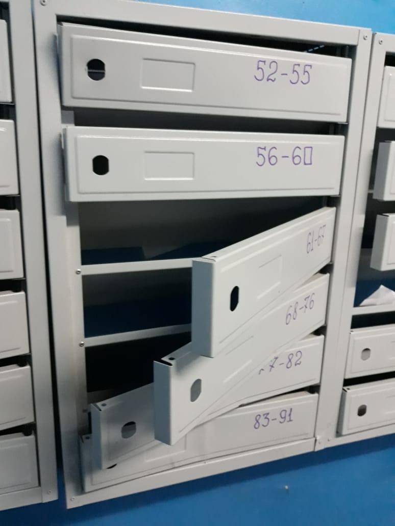 Почтовые ящики были без замков и не закрывались