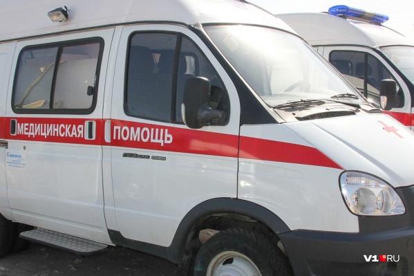 В больницу доставили водителяKIA Rio и пассажиркуDaewoo Nexia