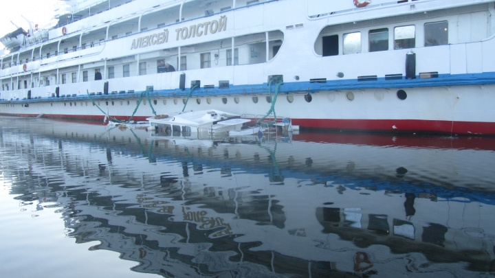 «Не заметила лайнер»: подробности ЧП с участием теплохода «Алексей Толстой» и яхты под Ярославлем