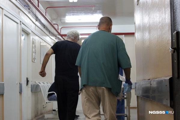 Заключённого перевезли из тюрьмы в отделение тубдиспансера для тяжёлых, а фактически для смертельно больных пациентов (фото из архива)