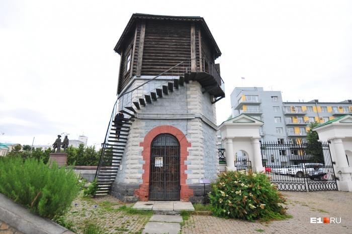 Так выглядит башня в наши дни