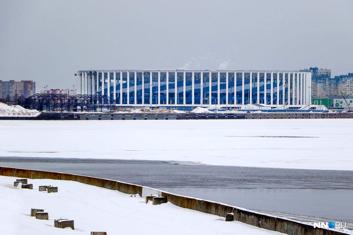 Нижегородский стадион сражается с аренами из США, Китая и Турции