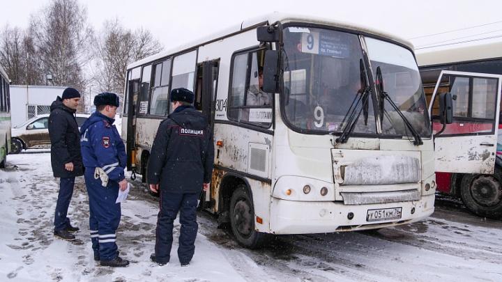 Будет расследование: по Ярославлю ездили неисправные автобусы и маршрутки