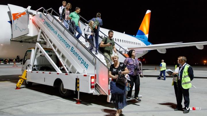 Аэропорт Волгограда принимает и отправляет самолеты по расписанию