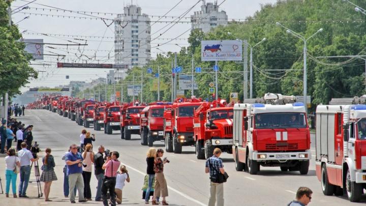 Из-за пожарных в Уфе перекроют проспект Октября в День города