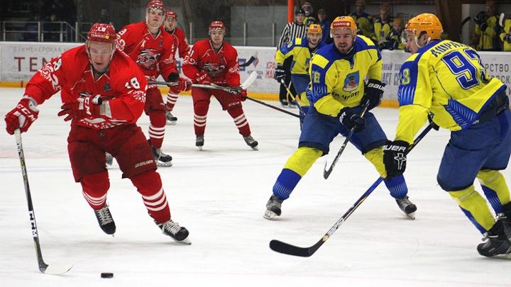 Трудная победа: ХК «Ростов» обыграл «Челны»