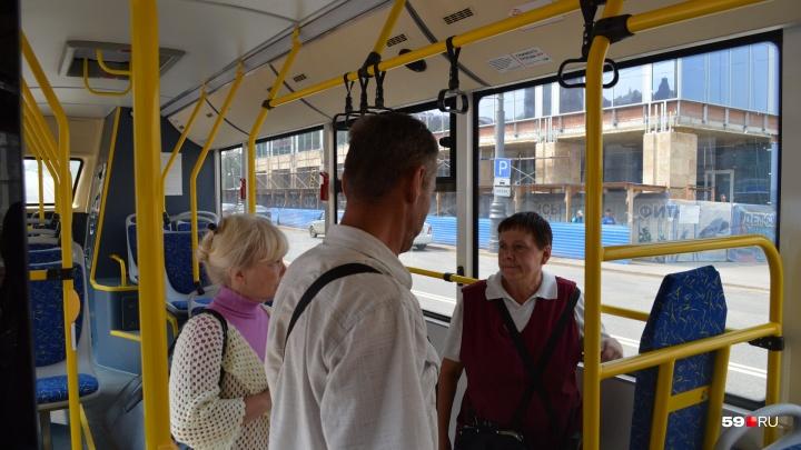 «Могут включить кондиционер, а могут — вентилятор»: в Перми ревизоры начали проверять автобусы