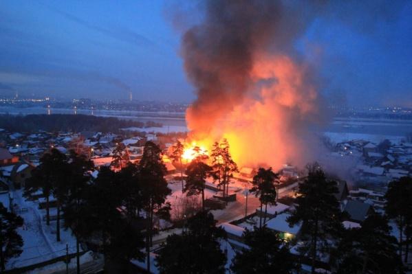 Пожар обошёлся без пострадавших