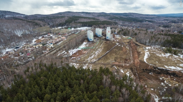 Показываем район, ради которого вырубят лес на Стасовой