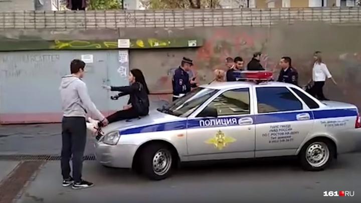 Молодых людей, избивших в Ростове сотрудников ДПС и пытавшихся бежать на Украину, отправят в СИЗО