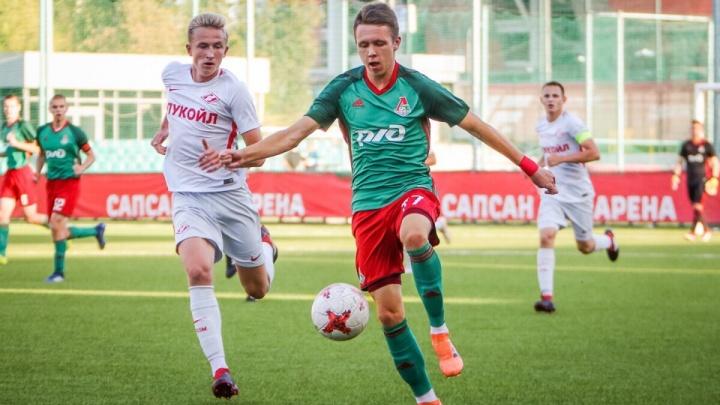 Молодой железногорский футболист перешел в питерский клуб «Зенит»