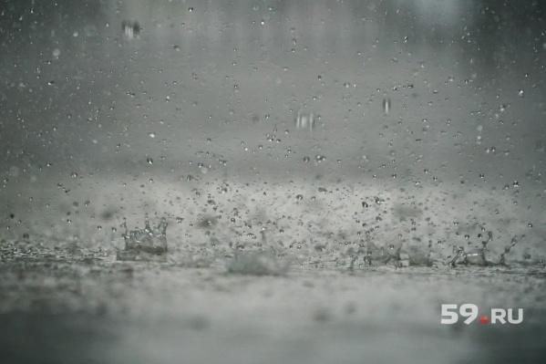В некоторых районах Прикамья ожидаются дожди и сильный ветер