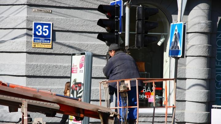 Пробка во все стороны: у «Гагаринской» погасли светофоры