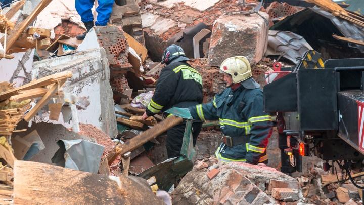 В Самарской области в результате взрыва газа обрушился дом