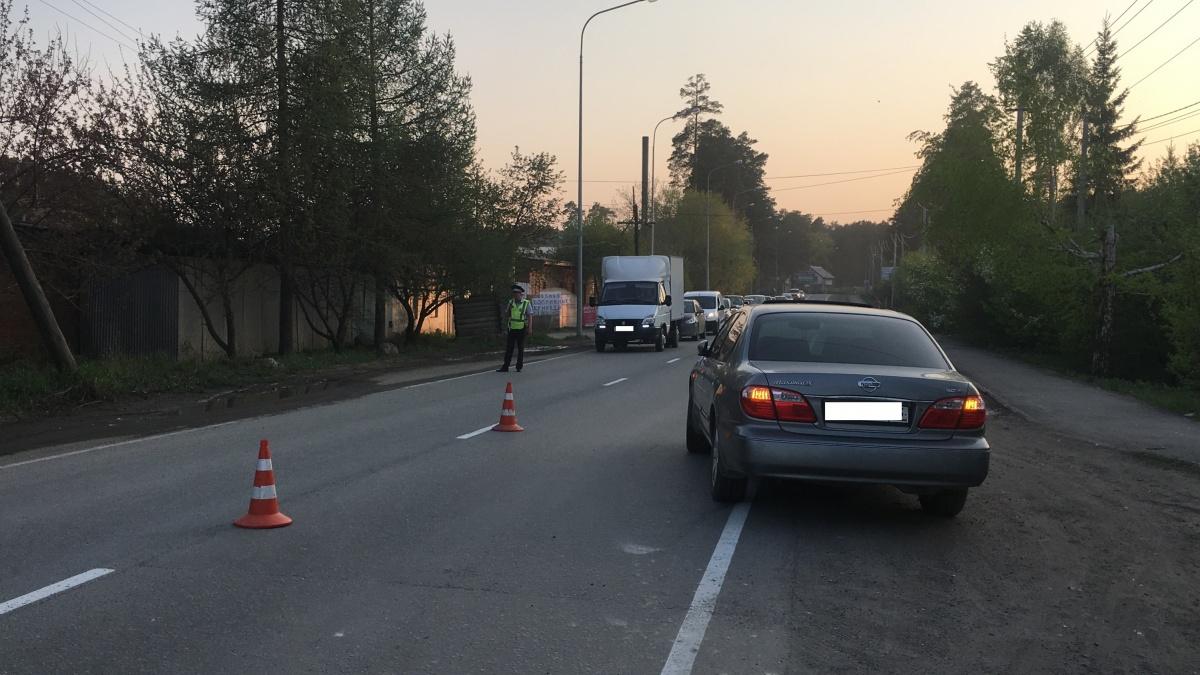 На Московском тракте авария произошла около семи вечера