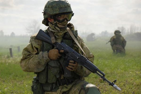 Все военнослужащие оснащены современным обмундированием<br>