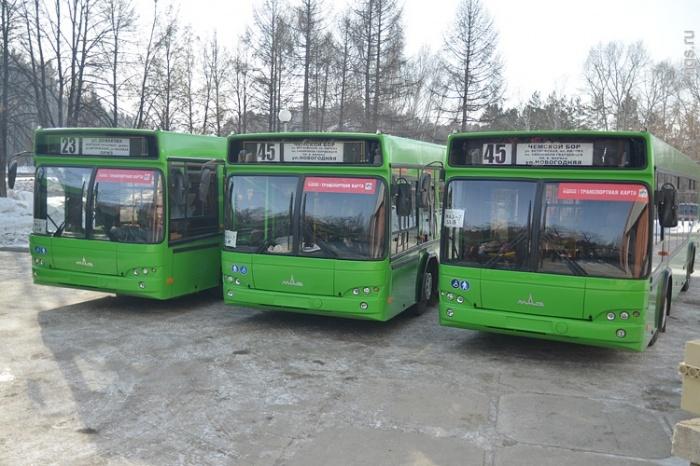 Первые автобусы поедут уже в пятницу
