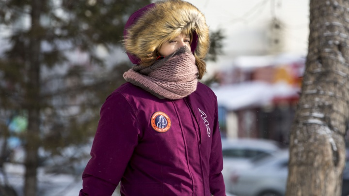 В Новосибирскую область идёт похолодание до –28 градусов