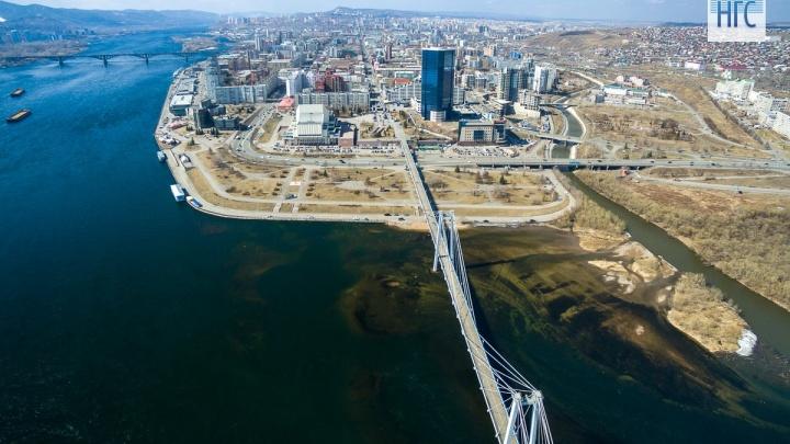 Что появится на левобережной набережной Енисея по новым правилам застройки