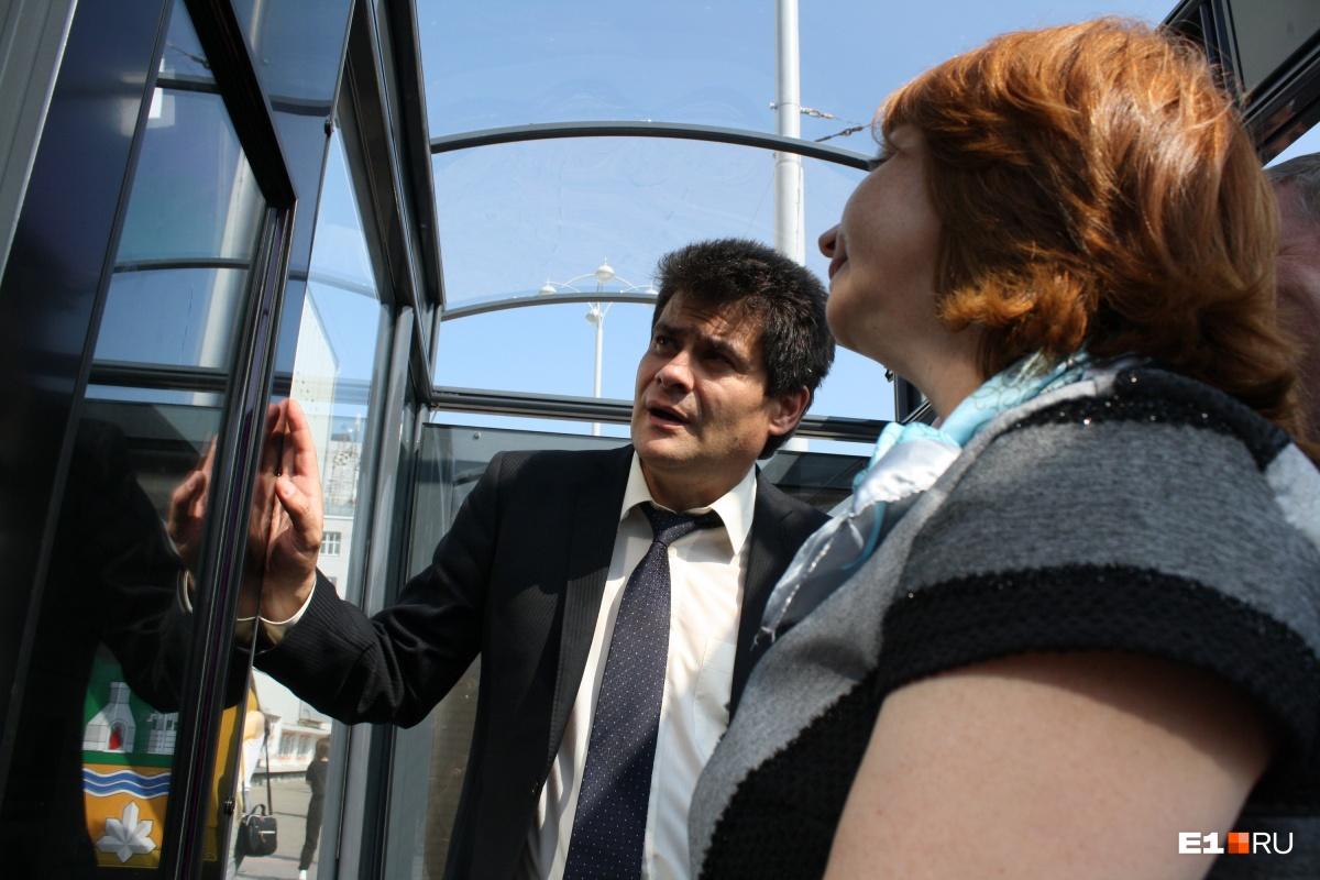 Глава города Александр Высокинский заявил, что в перспективе число умных остановок в Екатеринбурге доведут до 50