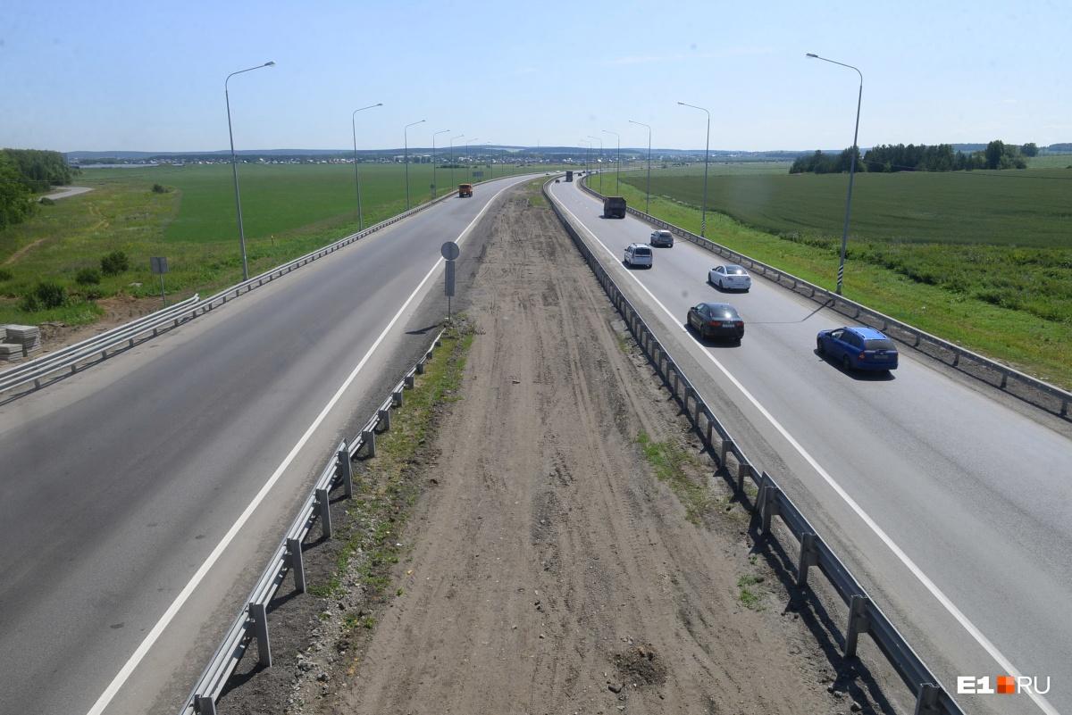 Когда будут разделены потоки и обновлено дорожное покрытие, Челябинский тракт станет самой скоростной дорогой на Среднем Урале