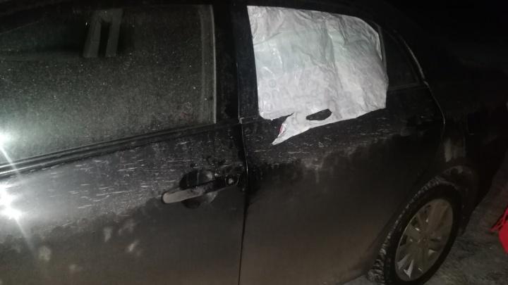 На «Столбах» активизировались автомобильные воришки