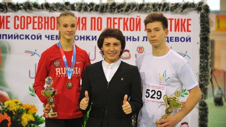 Дочь Татьяны Лебедевой взяла бронзу в тройном прыжке