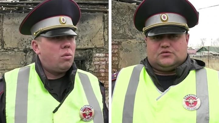 «Разбили окно, вытащили детей»: два автоинспектора получили медали от главы МВД за спасение семьи