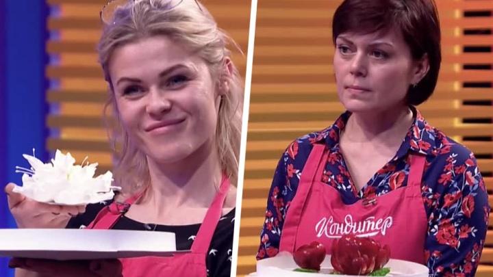 Сибирячка облила соперницу маслом в борьбе за миллион в суперфинале шоу «Кондитер»