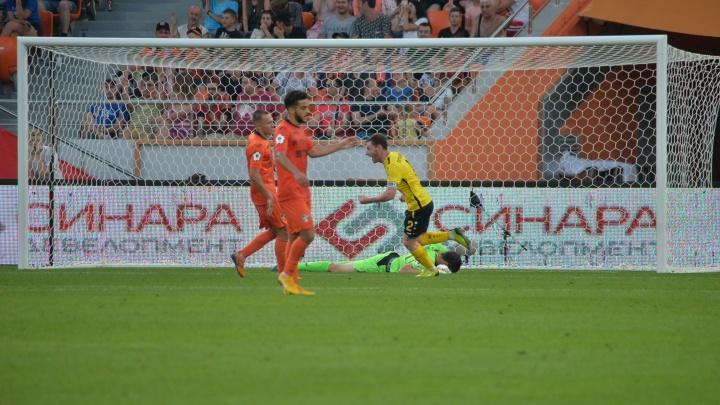 Футбол в режиме онлайн: «Урал» потерпел сенсационное поражение в матче с «Анжи»