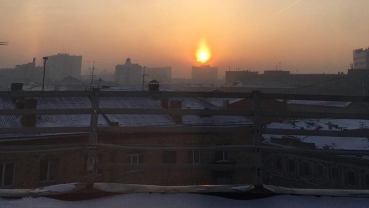 План экологического спасения Красноярска предложил Путин и обозначил причину «черного неба»